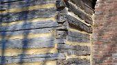 Log Cabin Detail