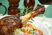 Lamb Shank With Rosemary