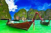 Boat at Thailand beach