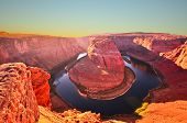 Famous Horseshoe Bend at Utah, USA