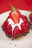 Delicious Strawberry Fruit Tart