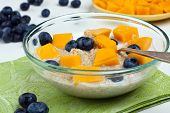 Bowl With Quinoa And Fruits