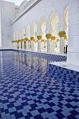 Sheikh Zayed Mosque, Columns & Tiles