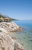 Promenade of Brela,Croatia
