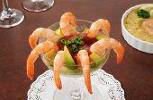 Shrimp Cocktail With Avocado
