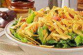 Taco Salad Closeup