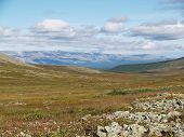 Tundra And Mountains