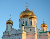 The Rostov Cathedral Of The Nativity Of The Blessed Virgin Mary, 01.11.2012 Year, Russia, Rostov-on-