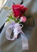 Wedding Button Flower