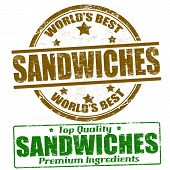 Sandwiches Stamps