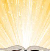 Shining Open  Book