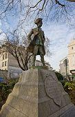Monument For Jean-francois  De La Barre. Paris, France