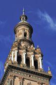 North Tower At The Plaza De Espana (spain Square), Seville, Spain