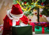 Boy And Christmas Gift