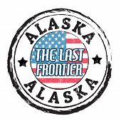 Alaska, The Last Frontier Stamp