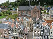 Madurodam in the The Hague, Netherlands