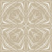 Beige geometric abstract thin pattern