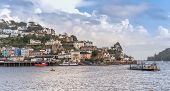 image of dartmouth  - Ferry crossing from Dartmouth yo Kingswear in Devon - JPG