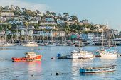 foto of dartmouth  - Dartmouth Marina on the South Coast of Devon - JPG