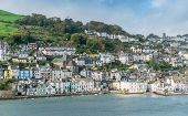 stock photo of dartmouth  - Dartmouth the holiday resort on the coast of Devon - JPG
