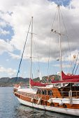 Yacht In Marmaris, Turkey