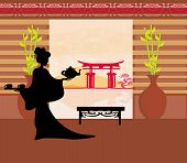 Tea Ceremony Of The Geisha