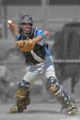 Catcher With Bw Background