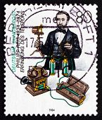 Postage Stamp Germany 1984 Philipp Reis, Physicist And Inventor