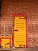 Yellow Doors Red Trim 2