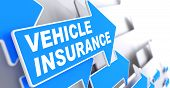 Vehicle Insurance. Business Concept.