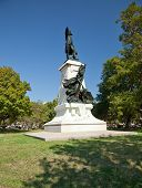 Statue Of Rochambeau In Lafayette Park, Washington D.c.