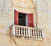 Maltese Stone Balcony
