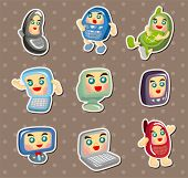 Computer And Mobile Phone Stickers