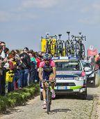 Filippo Pozzato- Paris Roubaix 2014