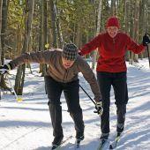 Travesura en esquís