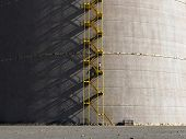 staircase on oil storage