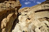 Hiking In Negev Desert.