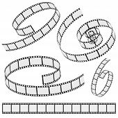 Cinema Film Strip Collection