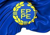 Flag Of European Parliament
