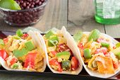picture of jalapeno peppers  - Tacos filled with migas a Tex - JPG