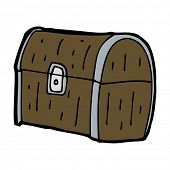 cartoon treasure chest