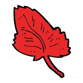 cartoon leaf symbol
