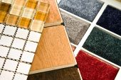 Carpet Wood And Tile Samples
