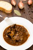 Venison Goulash In Vertical Format