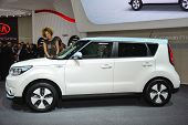 Kia Soul Ev At The Geneva Motor Show