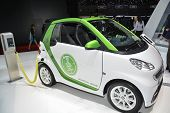 Smart Electric Drive And Charging Station At The Geneva Motor Show