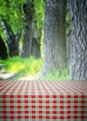 Empty Table In Forest
