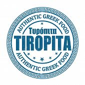 Tiropita Stamp