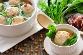 Stuffed Tofu Ball