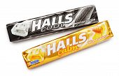 Mentholated Cough Drop Halls